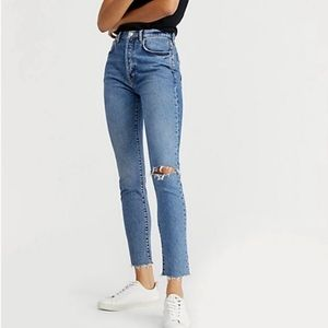 Free People We The Free Stella High Rise Jeans